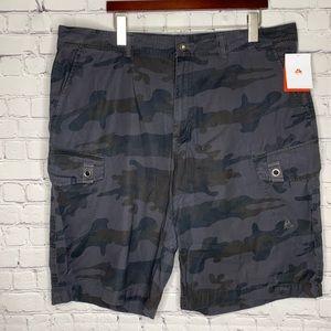 Nike ACG Camo Cargo Shorts Cotton Grey 40